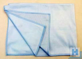 Polier- & Geschirrtuch blau 50x70cm, Mikrofaser
