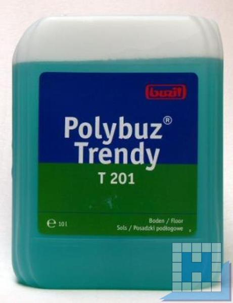 polybuz trendy 10l wischpflege t201 bodenreinigung pflege reinigungsmittel hennel. Black Bedroom Furniture Sets. Home Design Ideas