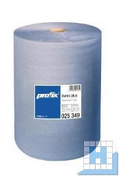 Putztuchrolle blau 3lg. Tissue, zwischenblattverleimt, 38x36cm 1000 Blt.