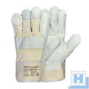 Rindvollleder-Handschuh natur, Gr. 11, CAT II EN 388, 3.1.2.3.