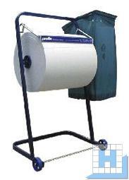 Profix Rollenständer mit Abfallsackhalterung, blau, für 40 cm Breite geeignet