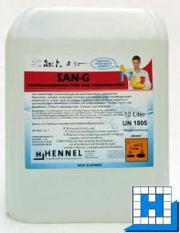 SAN-G 10L, Sanitär Grundreiniger/Entkalker