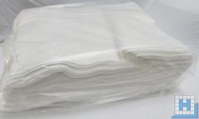 Vlies-Bodentuch weiß, 60x70cm ca. 140 gr/m²