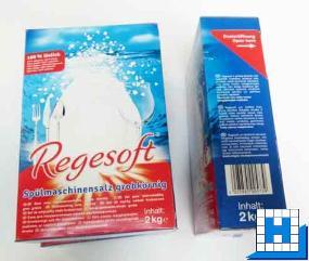 REGESOFT Spezial Salz 2kg, grob (6 Kart/Tray)