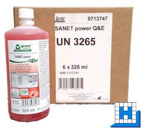 Tana Sanet Power Quick & Easy , Sanitär Kraftreiniger, 6x325ml/Kart.