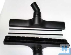 Wassersaugdüse Ø36x400mm mit Rollen Bürststreifen und Gummilippen (für gerade Rohre)