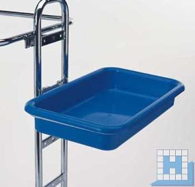 Schale I blau, 51x30x8 cm