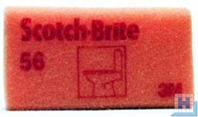 3M Scotch-Brite™ Reinigungsschwamm 56 rot/rot 70x130mm
