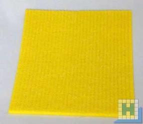 Schwammtücher gelb 18x20cm feucht 10er-Packung