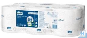Tork SmartOne Toilettenpapier 2lg Tissue weiß, 6 Rollen/Pack