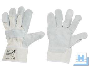 Rind-Spaltleder Handschuh, Gr. 10 EN388, Cat II
