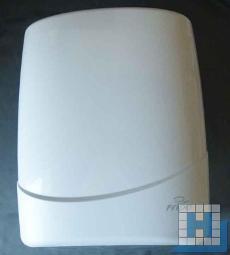 Handtuchspender Kunststoff, weiß, 315 x 390 x 160mm (BxHxT)