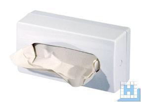 profix Kosmetiktuchspender Kunststoff weiß H140xB270xT140mm