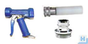 Seko Sprühpistole blau + Schaumaufsatz (Schaumstab) + Schnellkupplung