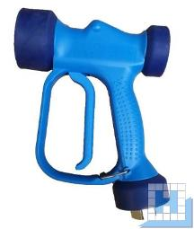 Sprühpistole blau (nicht für Schaumadapter geeignet) Anschluss 1/2 Zoll Innengewinde