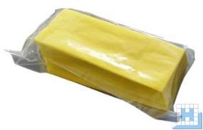 Staubbindetuch Viskose imprägniert (ca 60gr/m²) 60x30cm, gelb, 100 St/Pack
