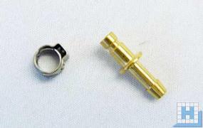 Strato Stecknippel klein mit Bride 4x6
