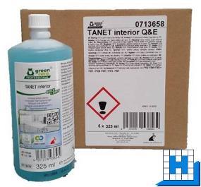 Tana Tanet interior Quick&Easy, Oberflächenreiniger, 6x325ml/Kart.