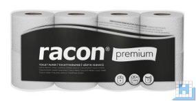 Toilettenpapier PREMIUM, 3lg. hochweiß, 250 Blatt, Zellstoff, VE: 56 Rollen (7x8)