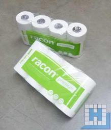 Toilettenpapier racon premium 2lg hochweiß Tissue 250 Blatt, 64 Rll/Pack, 9,5x11,2cm