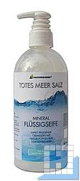 Totes Meer Salz, 500 ml, Flüssigseife, Pumpspender, (9Fl/Krt)