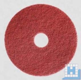 Twister Pad rot, Ø406mm, 2 Stk/Krt (sehr hart)