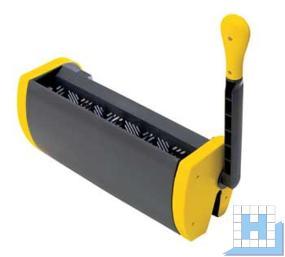 Twixter Flachpresse, gelb
