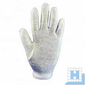Baumwoll-Trikot-Handschuh Gr 8, reinweiß Schichtel, (12Paar/Pack)