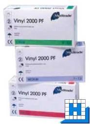 Einweghandschuh Gr. S, Vinyl puderfrei 100 St/Box