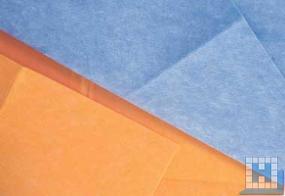 Vlies Bodentuch blau, 50x70 cm