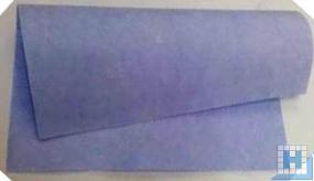 Vlies-Tuch blau 38 x 40cm