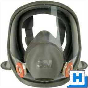 3M Gase-Dämpfe-Vollmaske 6000 Serie ohne Filter, Größe S (M)(L)