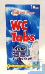 WC-Reiniger- u. Entkalker Tabs 25g, 16Tabs/Pack