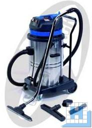 Nass-/ Trockensauger 70-2-STBL, 230V / 2 x 1000W, 70L Edelstahlbehälter