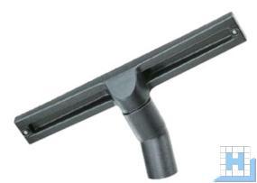 Wassersaugdüse Ø35x370mm mit 2 Gummileisten u. 2 Laufrollen