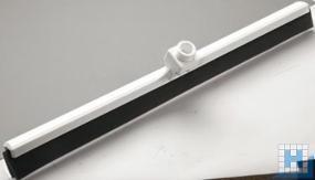 Wasserschieber, Zellkautschuk 2-lippig, schwarz, 620x35x25mm,