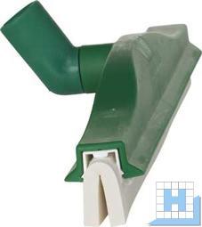 Wasserschieber 400mm mit Drehgelenk, grün, Moosgummi