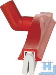 Wasserschieber drehbar, rot, 400mm Moosgummi