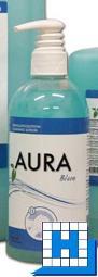 Aura Blue 500ml Waschlotion Pumpspender (9Fl/Krt)