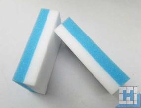 Saug- und Radierschwamm blau/weiß 117x70x29mm, 10er-Packung