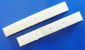 Strato-Pad-Streifen weiß, 6-er 37cm