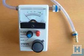 Strato Tester 2000 mit Alarm 9V Batterie (Wasserdurchlauf)